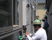 ガス機器を家の中にも家の外にも見栄えよく耐久性良く設置する藤本産業のガス住宅設備工事